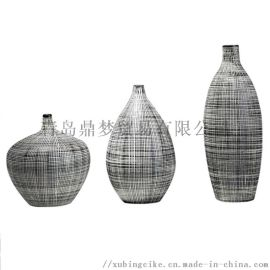 景德镇瓷器 田园风格花瓶
