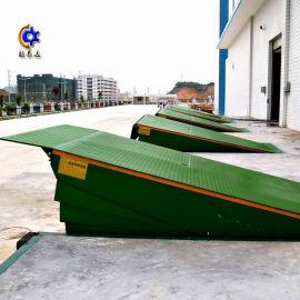 厂家订制12吨大型物流集装箱装卸车平台 固定登车桥