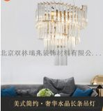 潤林泉樹枝造型全銅別墅燈展廳燈