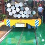 蓄电池遥控电动平车矿山机械搬运设备轨道平板车