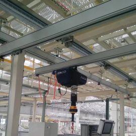 起重机铝合金轨道、铝合金框架吊、铝合金KBK轨道及配件