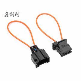 專供跨境電商MOST汽車音頻音響功放光纖汽車回路環公母回路環一對