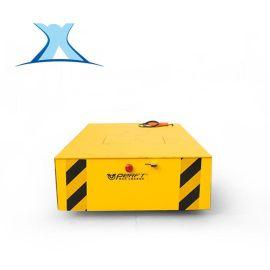 工控生产出入库无轨升降电动平板车蓄电池150T搬运设备无轨平车