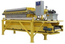 【景津】 320快开式压滤机 程控自动液压厢式压滤机 板框压滤机 隔膜压滤机