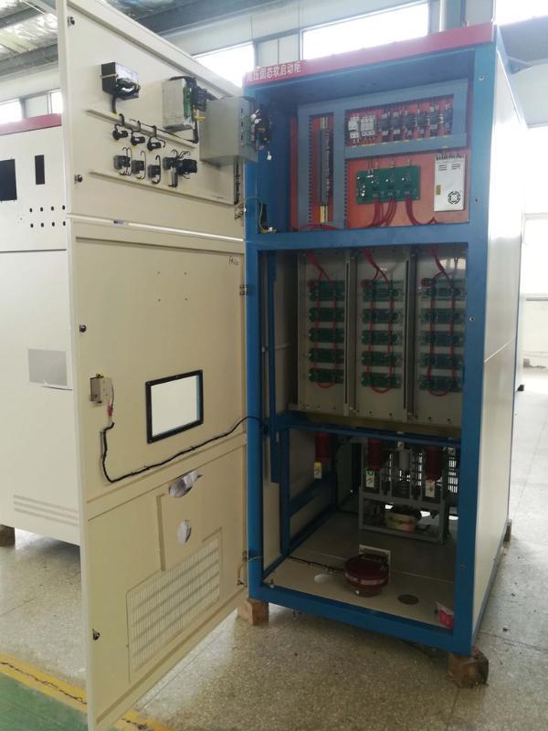 出口3.3KV高压固态软启动柜_降低起动电流_体积小