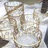深圳大酒店金屬制品定制加工、 不鏽鋼家具制品、鈦金圓幾架、古銅茶幾、玫瑰金家具