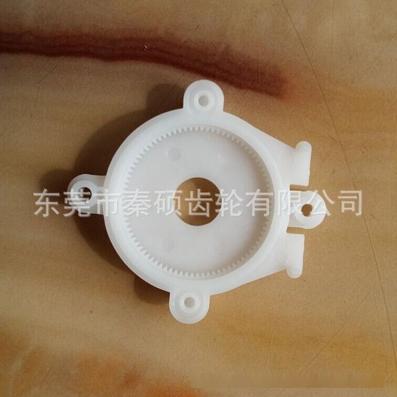 供应洗手液用马达圆柱齿轮/电机轴齿轮/塑料小齿轮/塑胶件