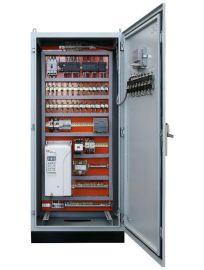 山东景津压滤机 操控柜 PLC变频器