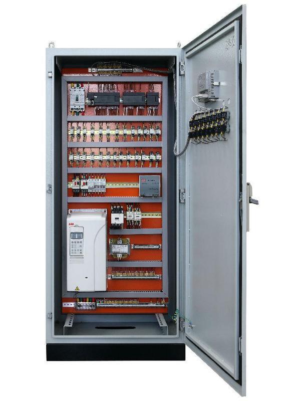 山東景津壓濾機 操控櫃 PLC變頻器