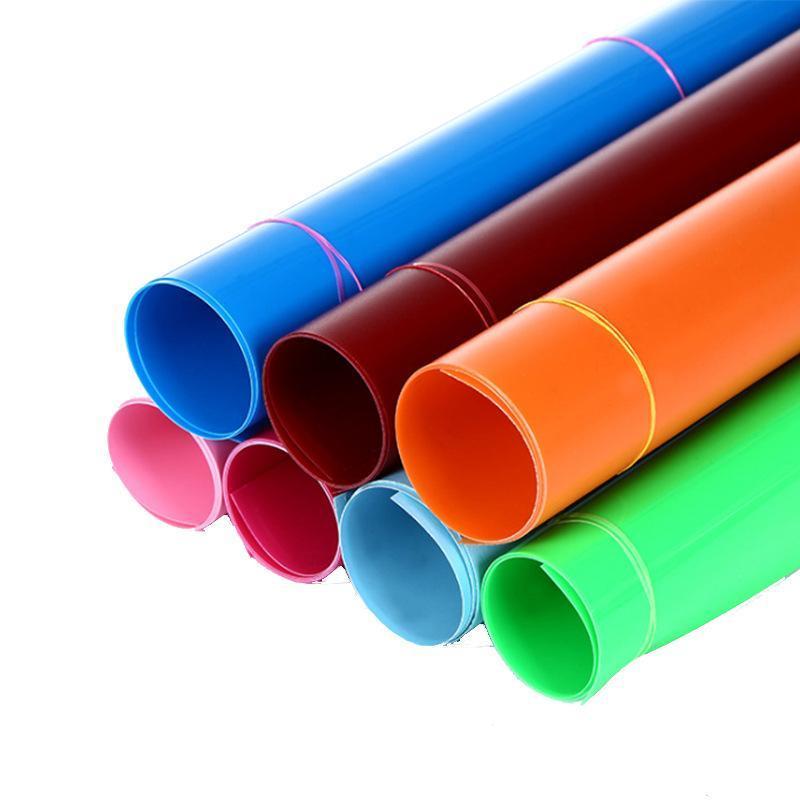 pp片材定做彩色塑料卷材ps吸塑打杯热成型挤出机专用PS双色塑料片