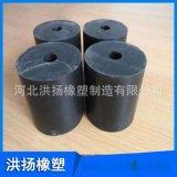 圓形橡膠減震塊 緩衝塊 橡膠減震柱 圓形橡膠墩