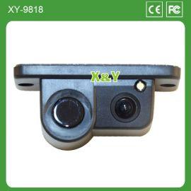 新款高清车载摄像头 倒车雷达可视一体 XY-9818 举报