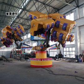 山东大型游乐设备 能量风暴 公园游乐设备