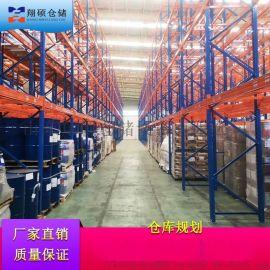 **仓储货架 莱阳汽摩配件加工厂 成品货架翔硕HL498