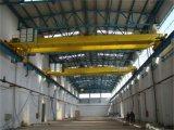 山東德魯克廠家直銷CLQ型14t 歐式電動葫蘆雙樑橋式起重機