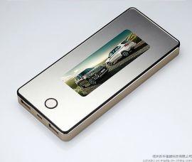 厂家批发 聚合物10000mAh 大容量移动电源 个性定制灯箱广告图片 电子礼品
