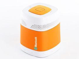 迷你型橡胶漆3.0蓝牙音响 32GTF插卡带收音机功能免提接电话音箱