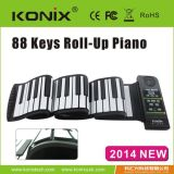 手捲鋼琴88鍵帶外音多功能電子琴, 矽膠電鋼琴,