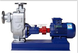 DN100 ZWP自吸式不鏽鋼排污泵 無堵塞 化工 食品醬料 紡織纖維