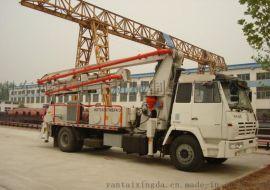 东风底盘32米混凝土臂架泵车