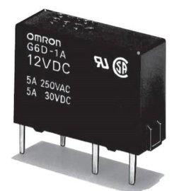 欧姆龙原装功率继电器G6D-1A