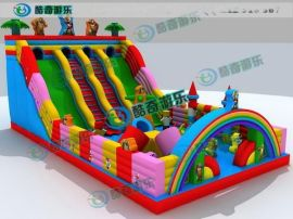长沙充气蹦蹦床价格,大型充气玩具多少钱 户外大型蹦蹦床