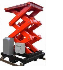 工程建筑设备轨道行走式升降平台-液压升降机-升降梯等生产厂家济南天越