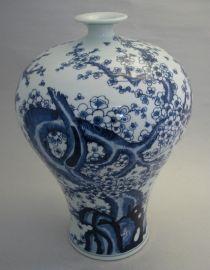 景德镇青花瓷摆件花瓶/家居装饰陶瓷花瓶/定制礼品花瓶厂