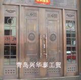興華泰生產批仿銅門 可定製單門 子母門 對開門