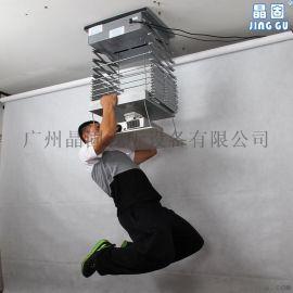 投影机天花电动吊架天花吸顶挂架电子行程吊架