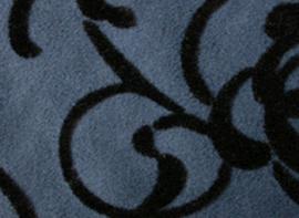 植绒麂皮绒防水背景装饰布 植花麂皮绒复合花点绒**装饰遮光布