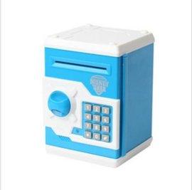 儿童电子储钱箱 儿童保险箱 电子保险箱 儿童玩具用品储钱柜