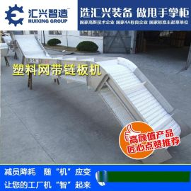 专业生产水平垂直输送线,网链爬坡流水线,爬坡提升输送线