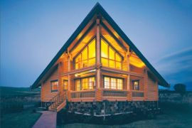 石家庄专业设计生产加工木屋别墅移动木屋只在享景木屋