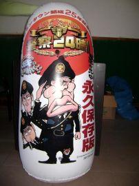 东莞厂家销售 充气不倒翁 pvc卡通玩具不倒翁定制