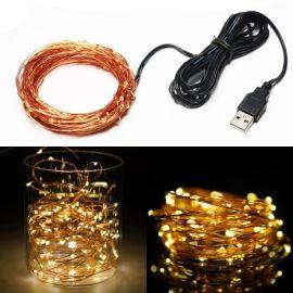 厂家**电池盒led灯 LED铜线灯圣诞灯节日彩灯 装饰灯串 LED铜丝灯 RSHOWER