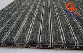 供应旋转门、自动门厅嵌入式铝合金除尘地毯地垫