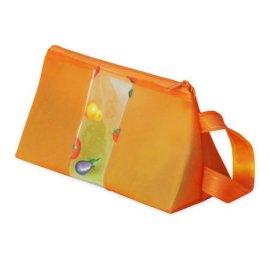 PVC玻璃丝手拿化妆包