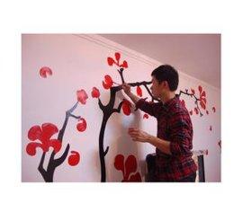 上海环保墙体彩绘颜料批发
