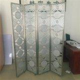 鋁銅雕刻屏風隔斷酒店屏風批發定製廠家 折屏可移動玄關加工
