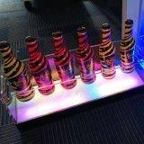 廠家直銷發光冰桶 led充電亞克力香檳桶酒吧專用防水紅酒冰桶定製