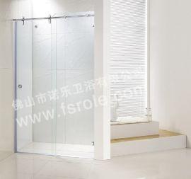 佛山諾樂淋浴房R-001供應淋浴房吊趟門信譽保證
