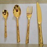 機拋不鏽鋼西食具 ,西餐刀叉勺 nc-竹節, 揭陽市不鏽鋼食具
