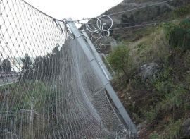 【四川被动防护网】选《四川鑫海》厂家生产各种边坡防护网!