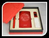 6000毫安培電源8G U盤簽字筆商務辦公套裝 活動送禮