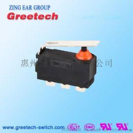 ZING EAR 1A/3A汽車防水微動開關 IP67 防水開關水準柄直柄無柱子125/250電壓廠家直銷