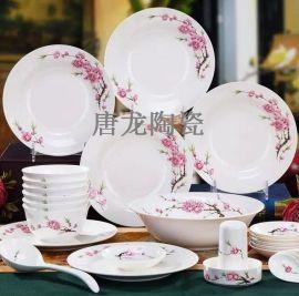 景德镇西餐摆台餐具厂家 陶瓷餐具订制