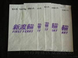 PE淋膜纸印刷呕吐牛皮纸袋垃圾纸袋