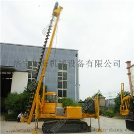 经久耐用恒旺HZY-800L履带式长螺旋打桩机