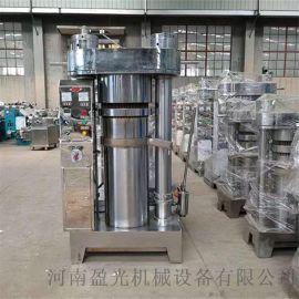 小型立式液压香油机 芝麻香油生产线 螺旋榨油机